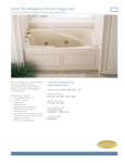 Jacuzzi FR25 User's Manual