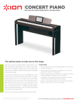 ION CONCERT PIANO User's Manual