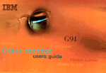 IBM G94 User's Manual