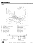 HP PROBOOK 4425S User's Manual