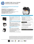HP Printer CM1415FNW User's Manual