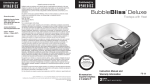 HoMedics FB-50 Downloadable Instruction Book