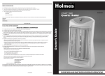 Holmes 1TouchTM User's Manual