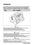 Hitachi 119SA User's Manual
