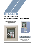 Hitachi Koki USA 3H User's Manual