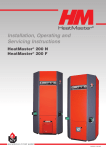 Heatmaster 200 F User's Manual