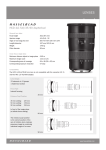 Hasselblad 6 / 35-90 Aspherical User's Manual