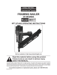Harbor Freight Tools 98917 User's Manual