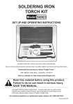 Harbor Freight Tools 94903 User's Manual