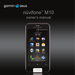 Graco NUVIFONE M10 User's Manual