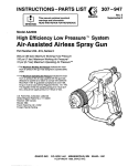 Graco AA2000 User's Manual