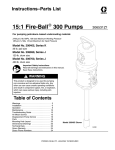 Graco 306531Z1 User's Manual