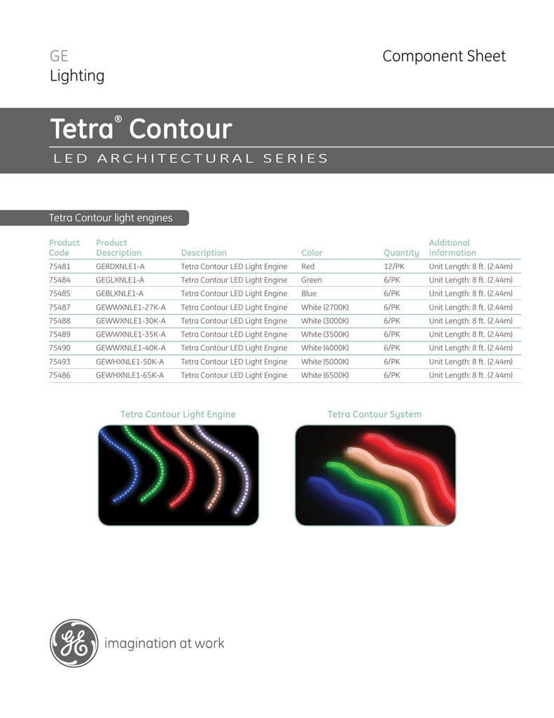 GE Tetra LED Contour Brochure