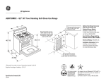 GE JGBP28MEK User's Manual