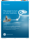 GE AsD Ultra Inverter Duty Brochure