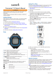 Garmin Forerunner 15 Owner's Manual
