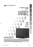 FUNAI FLX3220F A Owner's Manual