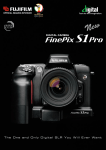 Fujifilm S1 User's Manual