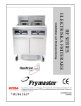 Frymaster RE Series User's Manual