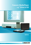 Freecom Technologies Multimedia Player User's Manual