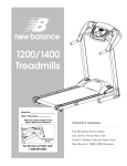 Fitness Quest 1200 User's Manual