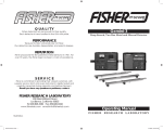 Fisher M-SCOPE GEMINI-3 User's Manual