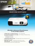 Epson VS335W Product Specifications