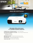 Epson VS330 Product Specifications