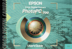 Epson PhotoPC 700 User's Manual