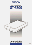Epson GT-5500 User's Manual