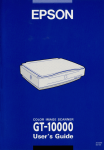 Epson GT-10000 User's Manual