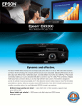 Epson EX5200 Product Brochure