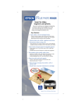 Epson RX620 Product Brochure