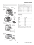 Epson R800 Product Information Guide