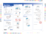 Epson NX100 Start Here Guide