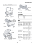 Epson CX5800F Product Information Guide