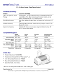 Epson C60 At-A-Glance