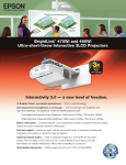 Epson 475Wi Product Brochure