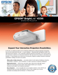 Epson 455Wi Product Specifications