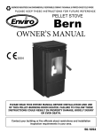 Enviro BERN C-10629 User's Manual