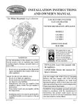 Empire Comfort Systems LS-18H-1 User's Manual