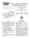 Empire Comfort Systems LS-18FAC-1 User's Manual