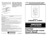 Emerson SW90 Owner's Manual