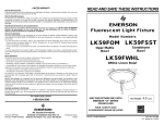 Emerson LK59FSST User's Manual