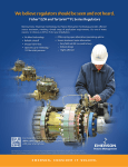 Emerson EZH and EZHSO Series Pressure Reducing Regulators Data Sheet