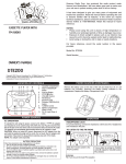 Emerson DTE200 Owner's Manual