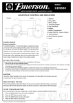 Emerson CK5888 Data Sheet