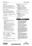 Emerson 627 Series Commercial/Industrial Regulators Installation Instructions