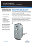 Emerson (LPV500-LPV700) Brochures and Data Sheets