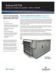 Emerson 500-1250KW Brochures and Data Sheets